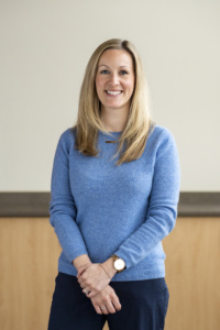 BEVS hospital administrator Whitney Durivage